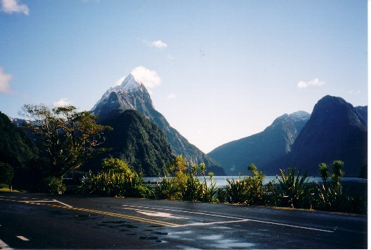 Home Based Business Travel - Milford Sound, New Zealand